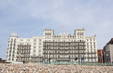 UK, The Grand Hotel in Brighton.