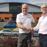 PR204 - Steve Hacking, Operations Director at SupaLite (left) Paul Sowerby, Sales Director at GAP Ltd (right)