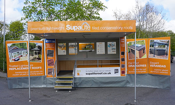 PR213 - Supalite Roadshow Display Van Open