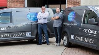 PR262 - Slenderline Glass Directors Andy Cocker (left) and Simon Cocker (right)