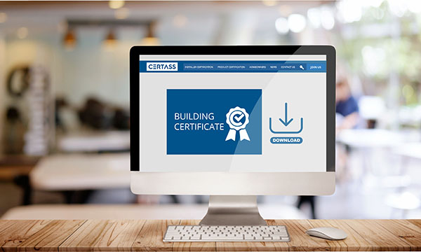 Certass Goes Digital With Building Certificates Window News