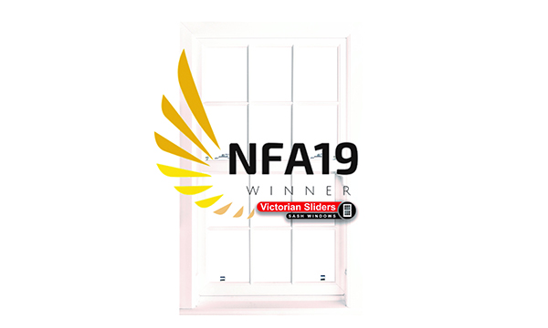 Victorian Sliders Named Sash Window Specialists At NFA 2019