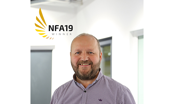 Shelforce Boss Wins Heart Of Industry Award At NFAs