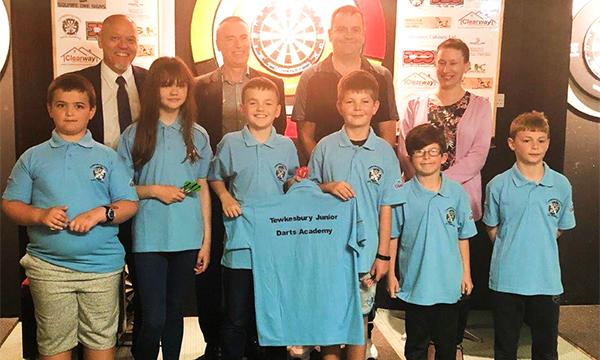 New Sponsorship Deal For Tewkesbury Junior Darts Academy