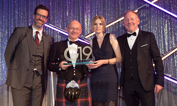 GLASSOLUTIONS Aberdeen Named 'Trade Counter Of The Year'