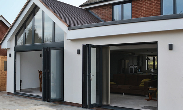 Exlabesa's Xlafold Aluminium Bifold Door Is Proving Popular With Fabricators