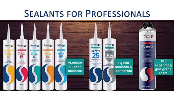 Hodgson's Expansive Sealant Range For Professionals