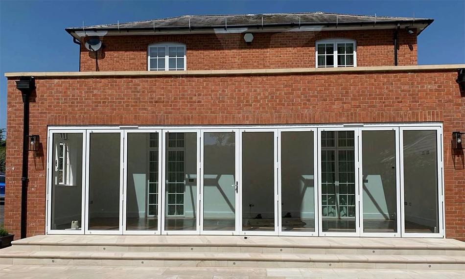 Fentrade Sees Increase In Aluminium Bifold Door Sales