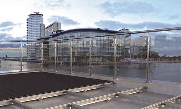 Synergised™ – Fully Fire-Rated Aluminium Decking System From F.H. Brundle