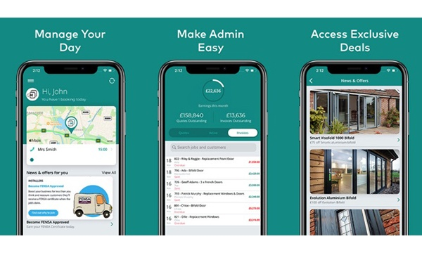 FENSA Approved Installers Offered Exclusive Deal With Glazing Hub Office App