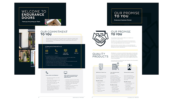 Endurance Publish New Customer Charter And Welcome Pack