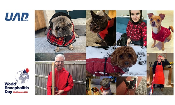 From Directors To Dogs, The UAP Team Were All Dressed Up For World Encephalitis Day
