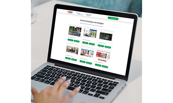 Website Designs Available From BM Touch Store
