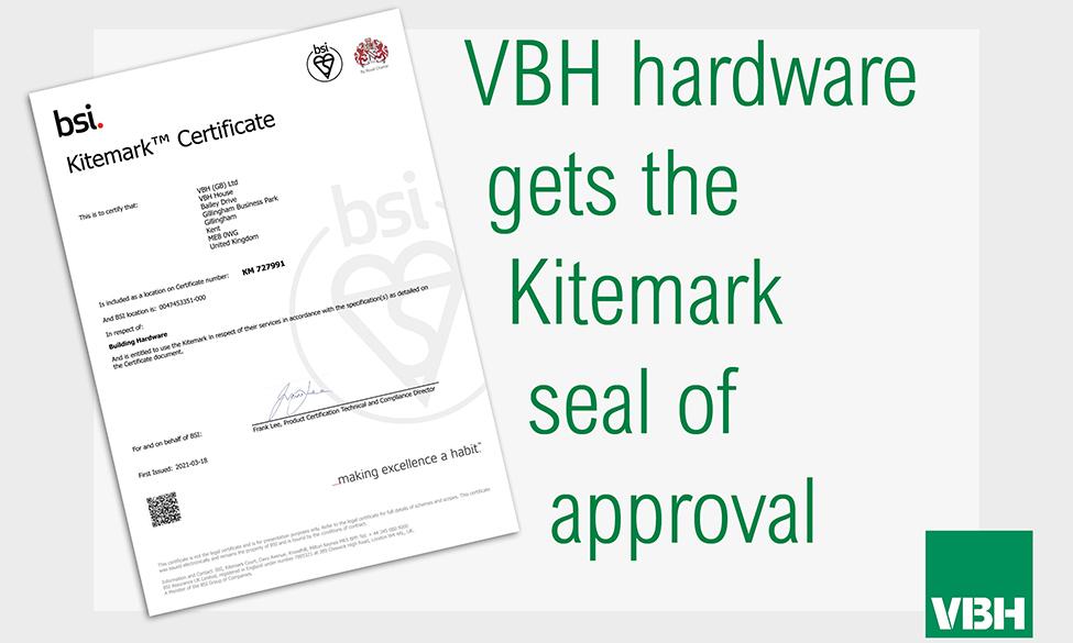 VBH Receive Kitemark Recognition