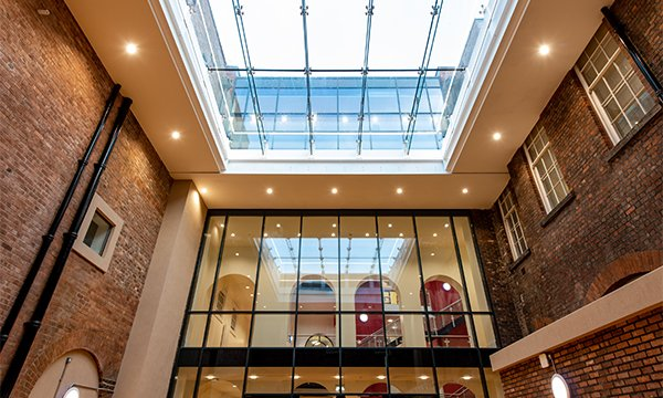Structural Glazing Raises The Roof At Famed Performing Arts School