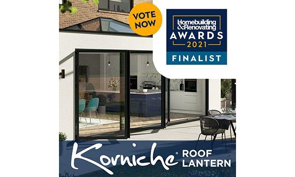 Korniche Roof Lantern Shortlisted