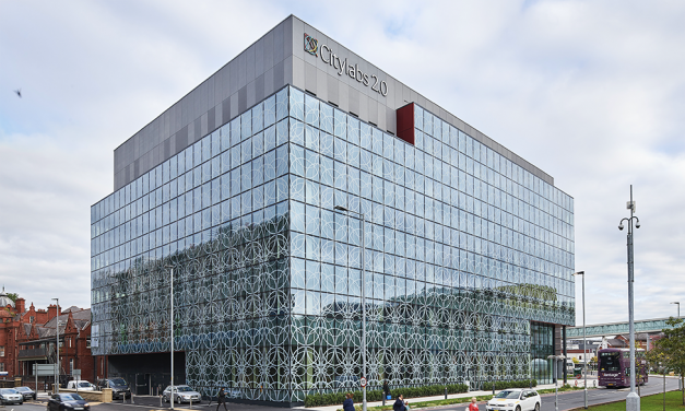 Kawneer Curtain Walling Holds A Unique Key To A Gateway Building