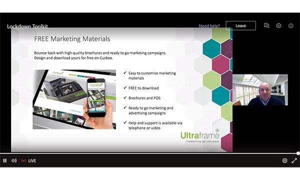 Ultraroof Webinar Attracts Record Numbers