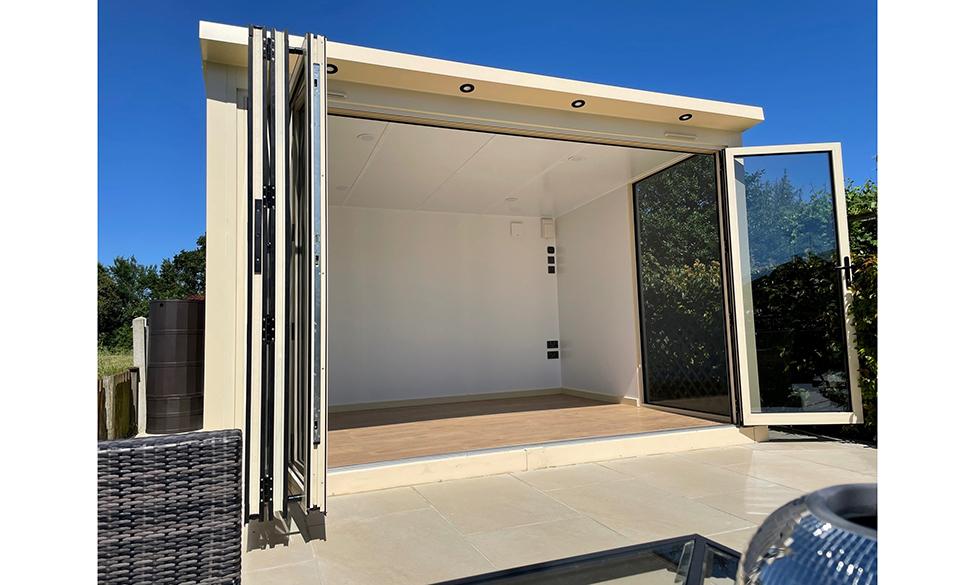 Jack Aluminium TD68 Profile Chosen For Aliwoods Garden Rooms