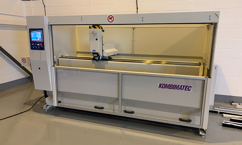 Door And Window Systems Continues Its Productivity Drive With A Fifth New Kombimatec Machine