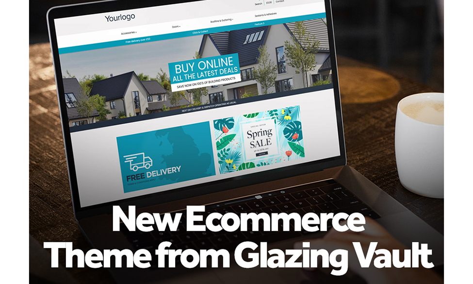 New Online Shop Option Available From Glazing Vault