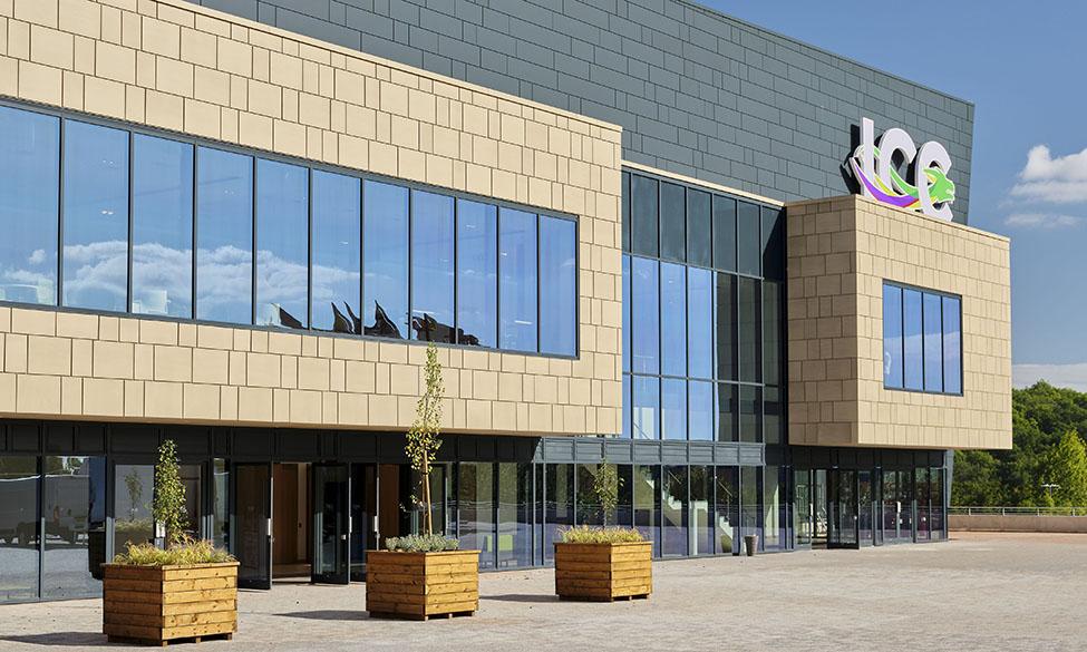 Kawneer Glazing Helps To Take Wales International