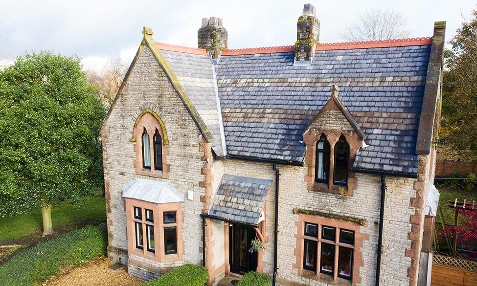 Profile 22's Optima Windows Help Transform Iconic Cemetery Lodge