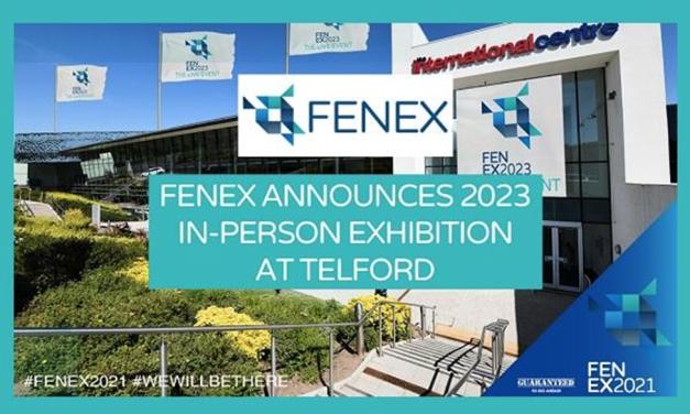 FENEX Announces 2023 In-Person Exhibition At Telford International Centre