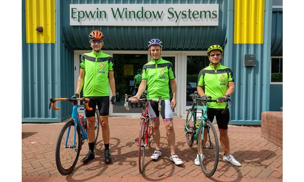 Epwin Window Systems Gears Up For The GMF 100 Cycling Challenge