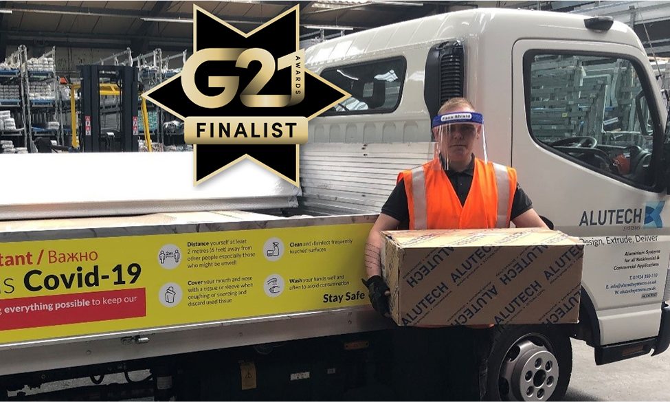 Alutech Systems Announced As G21 Finalist For *COVID 19 Business Hero Award