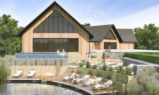 Rase Steels And Tradeglaze (Lincoln) Ltd Commence Work On A New Luxury Spa And Gym Complex At Laceby Manor Golf Resort