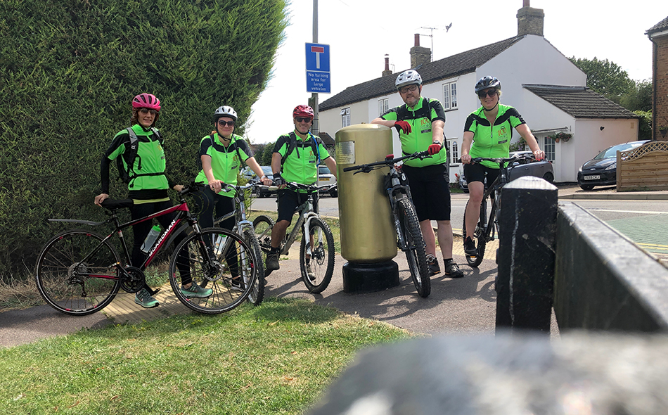 Window Ware Overcomes Setback To Complete 100-Mile Charity Cycling Challenge